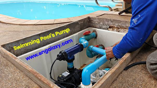 Swimming Pool Pump Practical installation in MEP Infrastructure works