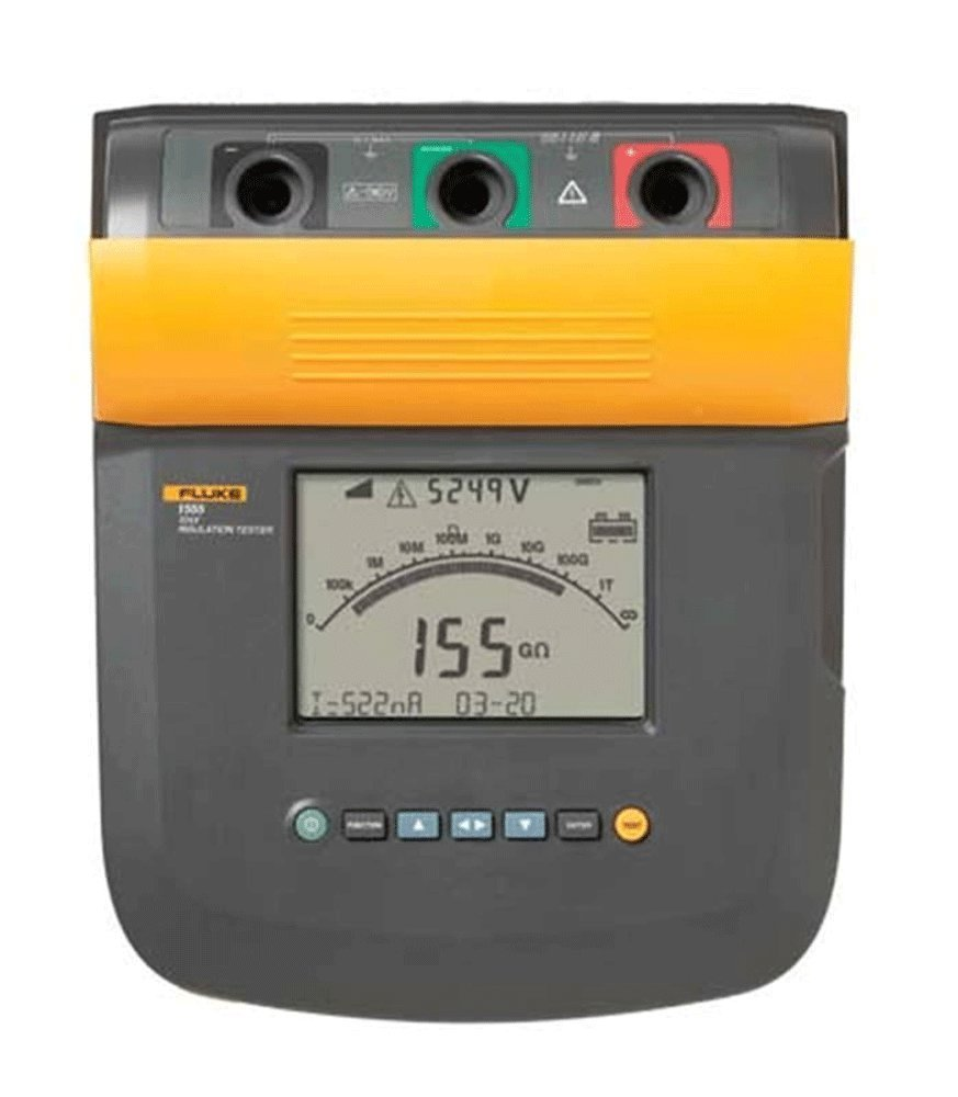 Insulation Test of cables using Fluke Tester