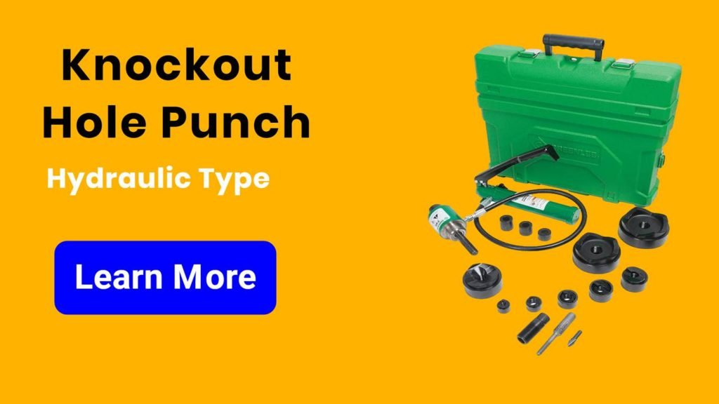 Knockout Hole Punch Hydraulic Type - engalaxy.com