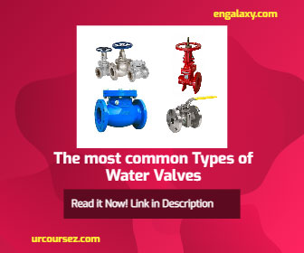 Valves | Your Best Guide for The most common 7 Types of Plumbing Water Valves