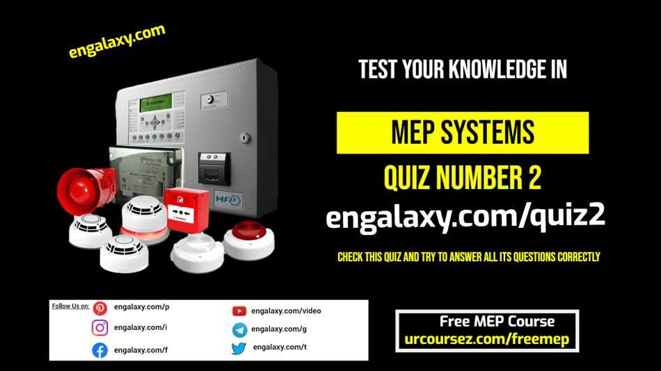 Fire alarm system quiz 2 engalaxy.com